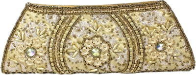 Maayas Party Gold  Clutch