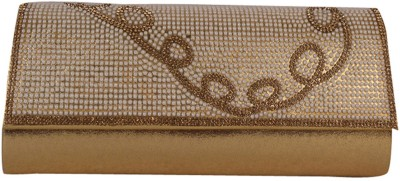 Heaven Deal Party, Festive Gold  Clutch