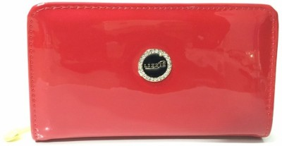 Lizzie Party Red  Clutch