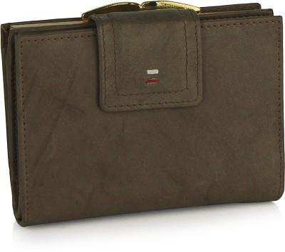 OOlalaShop Premium Leather Khaki  Clutch