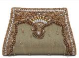 LuggageDunia Women Casual Brown  Clutch