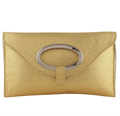 Pink Rose Party Gold  Clutch