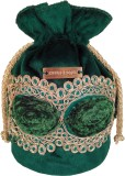 Haute Potli Women Festive, Wedding Green...