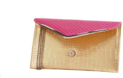 Fashnopolism Casual Pink  Clutch