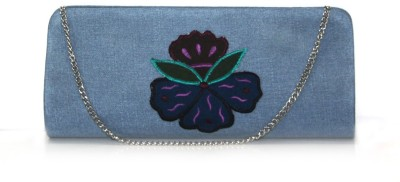 Lolaski Casual Blue  Clutch