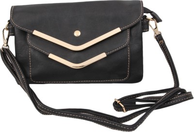 Alishaan Party, Casual, Formal Black  Clutch
