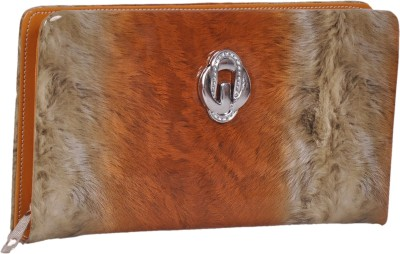 NAAZ BAGS COLLECTION Orange  Clutch