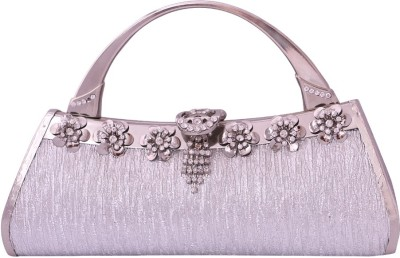 Pantof Party Silver  Clutch