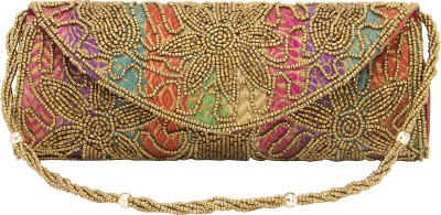 Tam Creatio Party Gold  Clutch