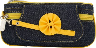 Fristo Casual Yellow  Clutch