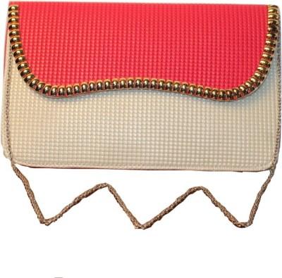 Malika Malhotra Fashion Studio Pink  Clutch