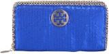 JAGADHARTI Women Blue  Clutch