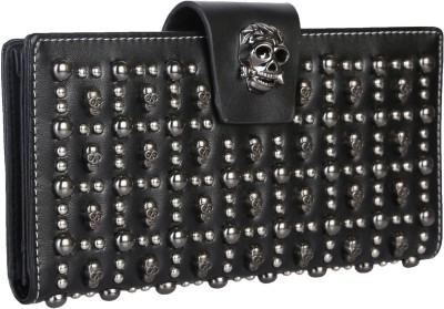 Idiot Theory Women Party Black  Clutch