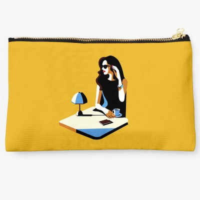 Uptown 18 Casual Yellow  Clutch
