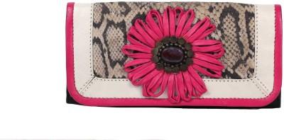 R&F Designs Women Casual Pink  Clutch