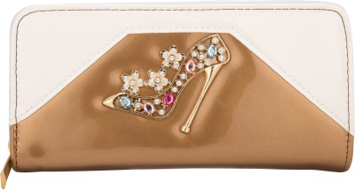Aliza Women Party Gold  Clutch
