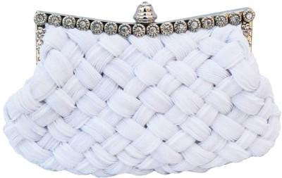 Chicastic Women Wedding White  Clutch