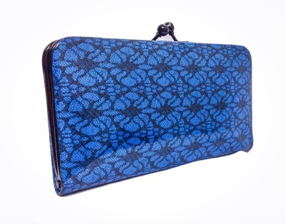 Bagzmania Women Formal Blue  Clutch
