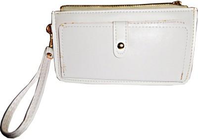 Samco Fas Girls, Women White Artificial Leather Wallet