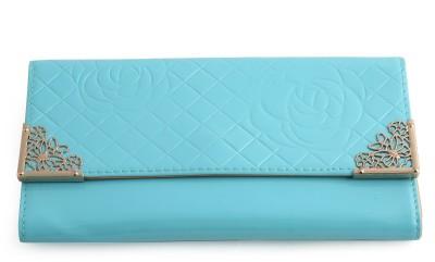YBC Girls, Women Blue Artificial Leather Wallet