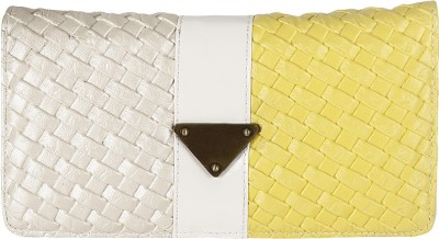 Fashion Hikes Casual Beige, Yellow  Clutch