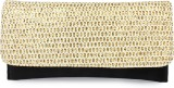 Histeria Women Casual Gold  Clutch