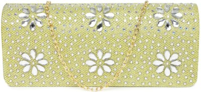Dressberry Gold  Clutch