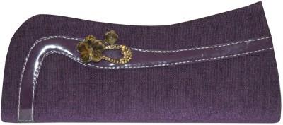 Shilimukh Women Casual Purple  Clutch