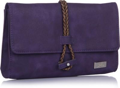 Yelloe Girls Casual Purple  Clutch