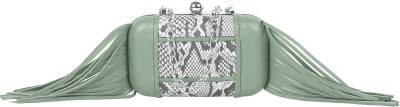 Paint Party Green  Clutch