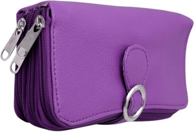Magiq Women Casual, Formal Purple Artificial Leather Wallet