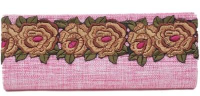 LuggageDunia Women Casual Pink  Clutch
