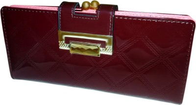 A To Z Creations Women, Girls Casual, Party Maroon  Clutch