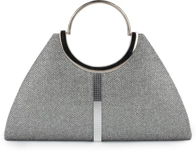 Do Bhai Women Casual Grey  Clutch
