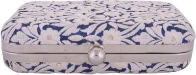Arisha kreation Co Wedding Blue  Clutch