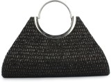 Histeria Women Casual Black  Clutch