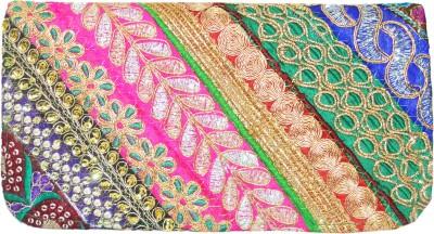 Shilpkart Festive, Formal, Wedding, Party Green  Clutch