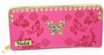 VIOLET Casual, Party Pink  Clutch