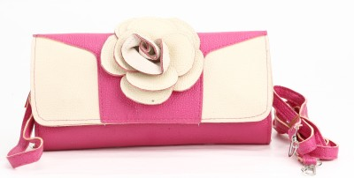 Jolie Casual, Festive, Formal, Party, Sports, Wedding Pink  Clutch