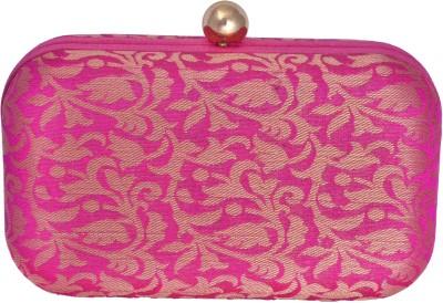 Posh Women Casual Pink  Clutch