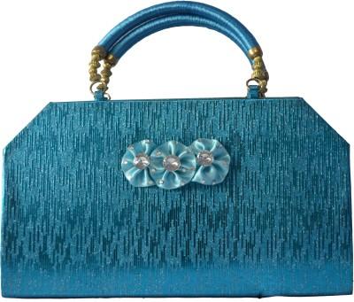 Freddys Women Festive, Casual Blue  Clutch