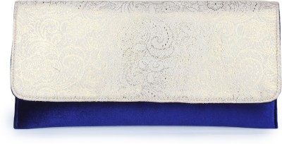 Do Bhai Women Casual Blue  Clutch