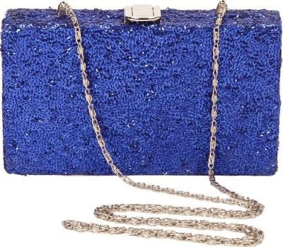 Eira Blue  Clutch