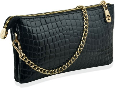 Artisan Crafted Casual, Party, Formal Black  Clutch