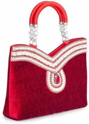 Penguin Girls Party Red  Clutch