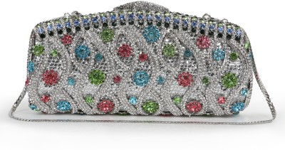 Zotti Women Party Multicolor  Clutch