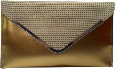 Evookey Wedding, Party, Festive Gold  Clutch