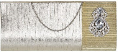 Cocktail Women, Girls Casual Gold  Clutch