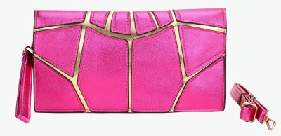 Luxury Living Casual, Festive, Formal, Party, Sports, Wedding Pink  Clutch
