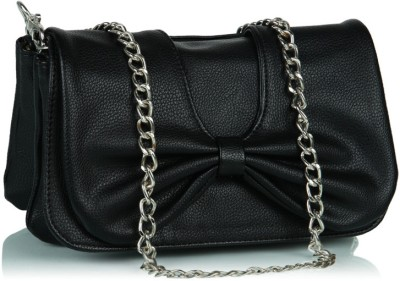 Butterflies Women Casual Black Artificial Leather Wallet